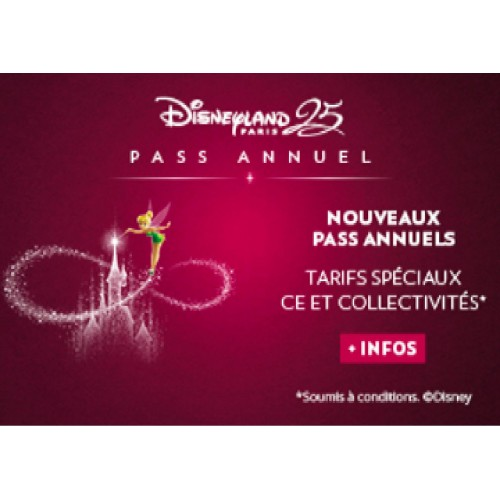 Pass Annuels Disney - e.billet