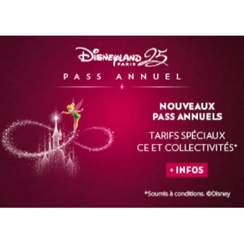 Pass Disney Annuel