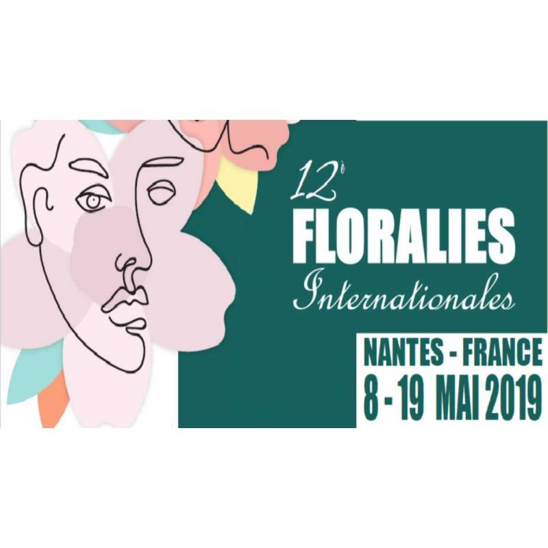 Les Floralies Nantes du 8 au 19 mai 2018