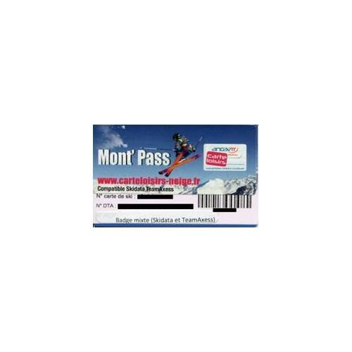 Badge Mont'Pass