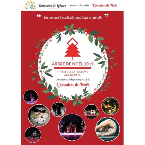 Spectacle de Noël Théâtre de la Fleuriaye Carquefou