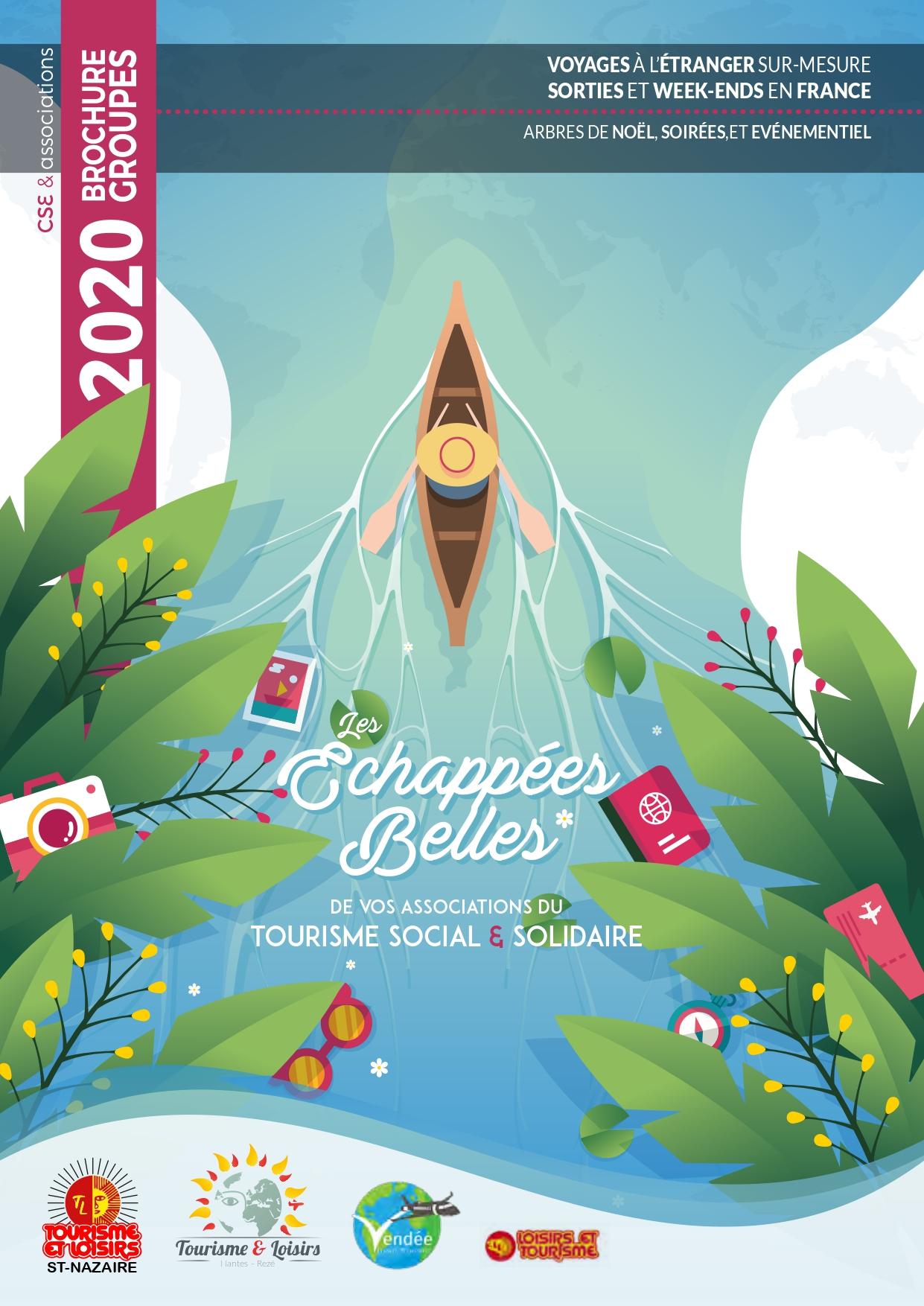 Brochure 2020 Groupes Voyages Sortie Tourisme Loisirs