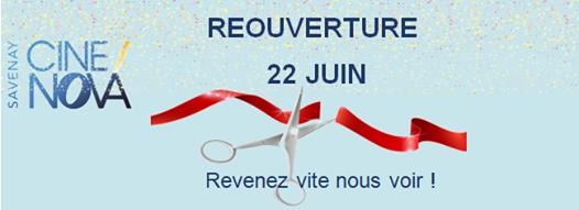 Reouverture Cine Nova Savenay