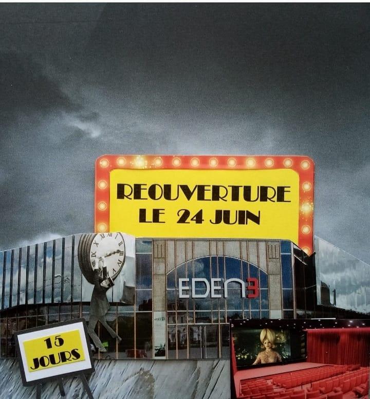 Reouverture Cinema Eden Ancenis