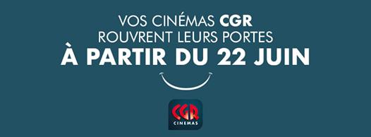 Reouverture cinéma CGR