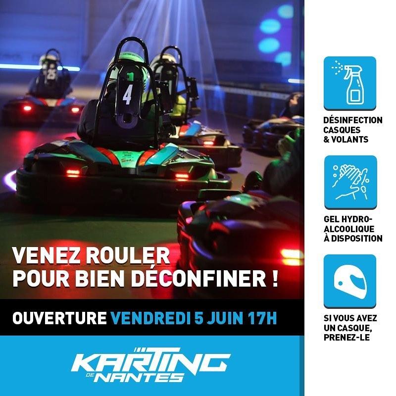 Reouverture Karting Nantes