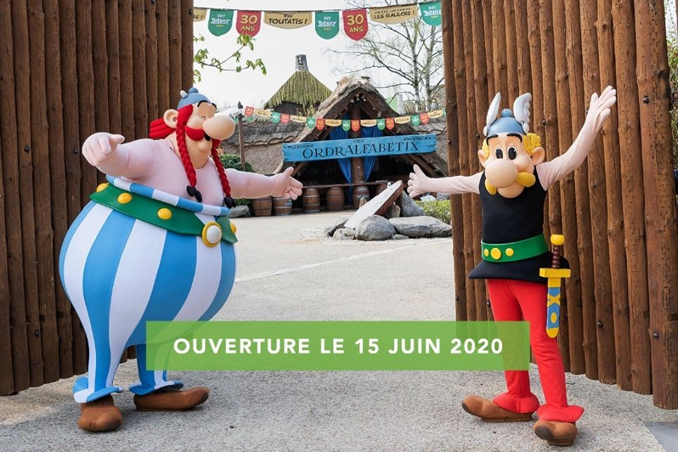 Reouverture Asterix