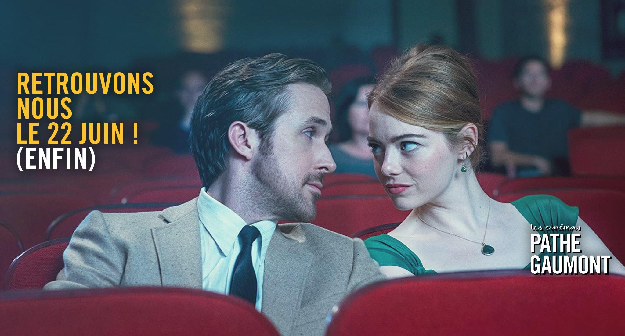 Reouverture cinemas Gaumont Pathe